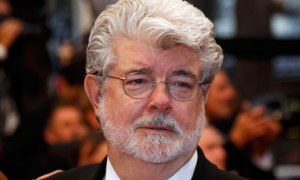 Film director George Lucas at the 65th Cannes Film Festival (The Guardian)