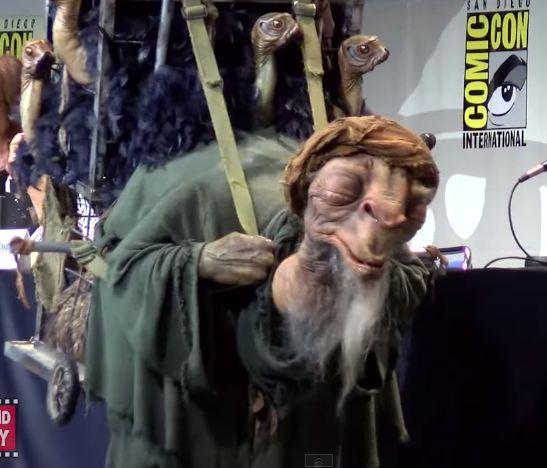 Az ébredő Erő a Comic-Conon