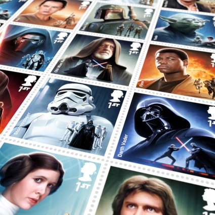 Star Wars bélyegekkel kedveskedik a brit posta